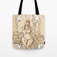 I want to live in a SWEET WORLD! Tote Bag
