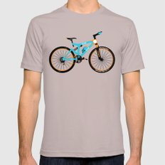 Mountain Bike Mens Fitted Tee Cinder SMALL