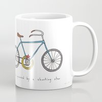 bicycle powered by a shooting star Mug