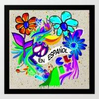 En español! Art Print
