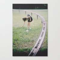 Distance And Time Canvas Print