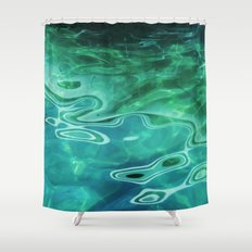 Water / H2O #67 (Water Abstract) Shower Curtain