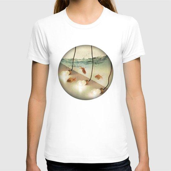ideas and goldfish T-shirt