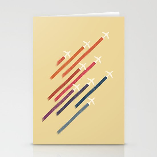 Aerial display (ver.2) Stationery Card