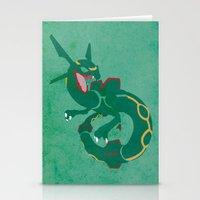 Rayquaza Stationery Cards