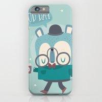 Snazzy Bear Says Good Da… iPhone 6 Slim Case