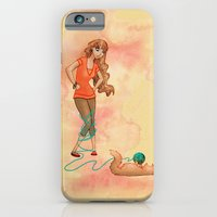 iPhone & iPod Case featuring Tangled Trouble by Sarah J