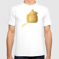 Dip Into The Honey Jar -… Mens Fitted Tee White SMALL