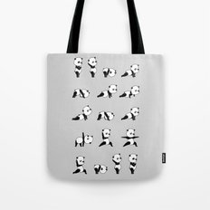 Yoga Bear - Panda Tote Bag