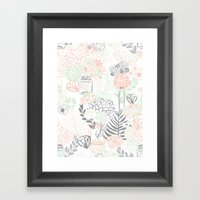 Cucumber Peaches And Cre… Framed Art Print