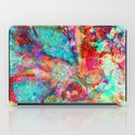 abstract orchid iPad Case