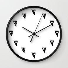 Even Pizza Makes Pizza Happy Wall Clock