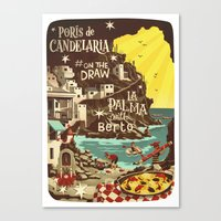 Porís De Candelaria #on… Canvas Print