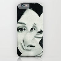 iPhone & iPod Case featuring Frau mit Dreieck 1 by Marko Köppe