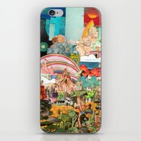 Through the woods iPhone & iPod Skin
