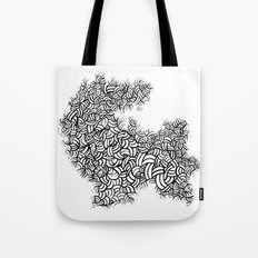 Abstract 65581081 Tote Bag