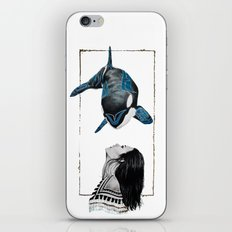 Haida Orca iPhone & iPod Skin