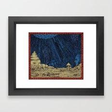 Moon in Mind Framed Art Print