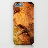 iPhone & iPod Case featuring I heart Leaves by Masharra Mysti