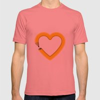 Love to draw Mens Fitted Tee Pomegranate SMALL