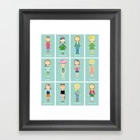 Calendar Girls Framed Art Print