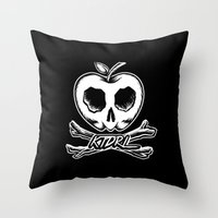 Sweet Remains Throw Pillow