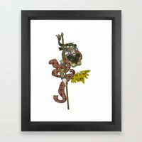 CORN OR MAIZE  Framed Art Print