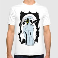 Blue Reaper  Mens Fitted Tee White SMALL