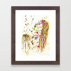 Colour Me In Framed Art Print