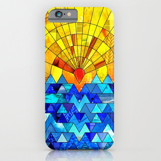Sun & Sea Collage iPhone & iPod Case
