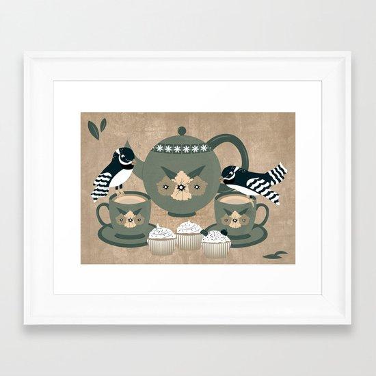 Tea For Two_ Framed Art Print