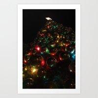 Christmas Balls Art Print