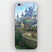 epic fantasy castle  iPhone & iPod Skin