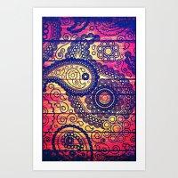 Vintage Texture - For Ip… Art Print