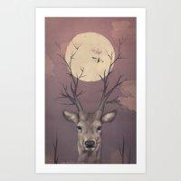 Deer Soul Art Print