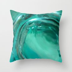 Water Planet In Dreams Throw Pillow