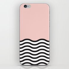 Waves of Pink iPhone & iPod Skin
