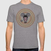Aries Mens Fitted Tee Athletic Grey SMALL