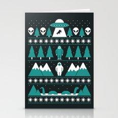 Paranormal Xmas Stationery Cards