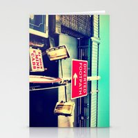 Signs-Colour Edition Stationery Cards