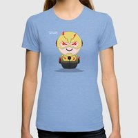 ChibizPop: The Reverse Womens Fitted Tee Tri-Blue SMALL