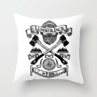 LUMBERJACK Throw Pillow