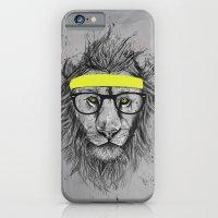 Hipster Lion iPhone 6 Slim Case