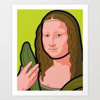 The secret life of heroes - MonaDream Art Print
