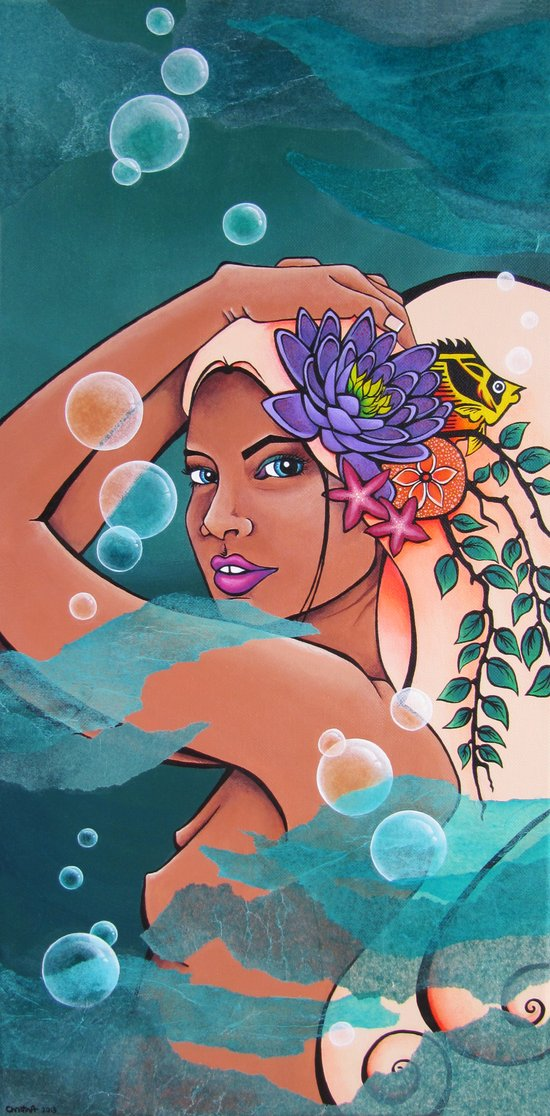 Nereid Thaleia Art Print