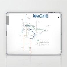 Twin Cities METRO System Map Laptop & iPad Skin
