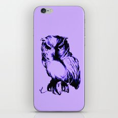 Owl Color iPhone & iPod Skin