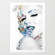Marilyn Monroe (NOW WITH MORE SIZES) Art Print
