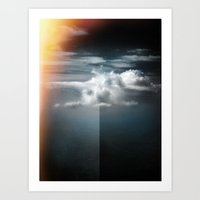 Cloud In The Northern Sk… Art Print