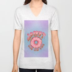 Donut Kill My Vibe Unisex V-Neck